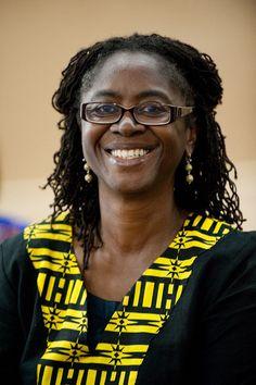 Princess Abena Busia of Ghana, Poet and Academic, Associate Professor at Harvard University.
