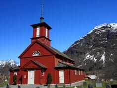 Fjærland church, Norway