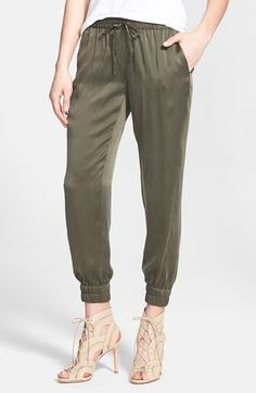Paige Denim 'Jadyn' Silk Track Pants available at #Nordstrom