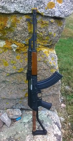 cerebralzero:  ausloser:  cerebralzero:  Shitty cellphone picture of my Zastava O-PAP.  @cerebralzero any idea where i can get one of those ventilated upper handguards? I've been searching for ages, no luck  If you have a non-Yugo AK you might get lucky and be able to find one somewhere but as far as I know no companies are making them right now for any AK rifle. Some people online make them in small batches  and sell them though(I think there is a guy on AK files who makes them) But other…