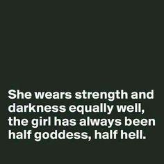 Goddess and Devil♏