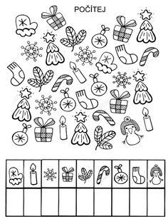 Vorschule Basteln Weihnachten – Rebel Without Applause Christmas Worksheets, Christmas Templates, Christmas Activities, Preschool Math, Preschool Worksheets, Kindergarten Activities, Kindergarten Freebies, Autism Activities, Activities For Kids