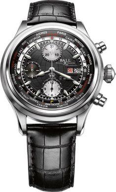 BALL Watch Company Trainmaster Worldtime Chronograph