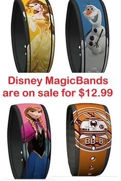 Disney MagicBands are on sale for $12.99! This deal won't last long so get in on it while you can!
