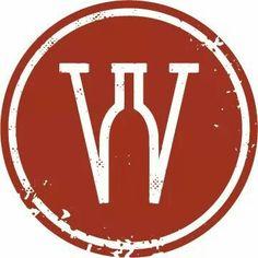 """Wine Down"" Ooltewah Wine Bar logo (FB) #wineFont #cRed"