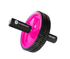 Abdominal Exercise Ab Wheel Roller with Foam Handles, Great Grip, Double Wheels, Top Professional Quality (Pink). Dual Double Wheels for Stronger Stability and Smoother Workout Will Give You Better Results. Great SOFT FOAM HANDLES for a easy and comfortable grip to prevent slippage. Strengthen your Core Body Muscles Abdominal, Arms, Back, Shoulders, Core ans SixPack. Exercise at home or on the road with no big machines Just a Set of Ab Wheels and get great results. Great Way to start...