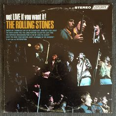 Rolling Stones - Got Live If You Want It! (Used LP)