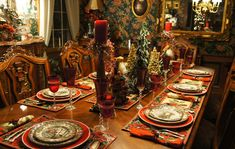 Kathleen of Cuisine Kathleen is having a A PINTERESTING CHRISTMAS TABLE challenge. I have a hard time finding a picture of what I wanted t...