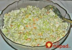 KFC Coleslaw is a five minute side dish you'll enjoy all summer long with your favorite chicken and more! Tastes exactly like the original! KFC Coleslaw is one of my most personal childhood food memories. Side Recipes, Great Recipes, Favorite Recipes, Simply Recipes, Easy Recipes, Kfc Coleslaw, Coleslaw Recipes, Restaurant Recipes, Copycat Recipes