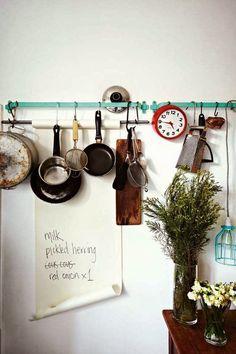 Inspiration monday: Bohemian Kitchen.