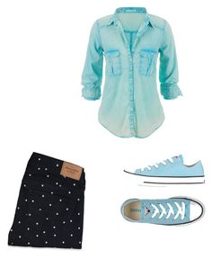 """""""Sin título #87"""" by margarita-gilbon ❤ liked on Polyvore featuring Abercrombie & Fitch, maurices and Converse"""