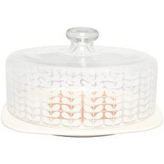 Buy Orla Kiely Multi Stem Cake Dome, Cream Online at johnlewis.com