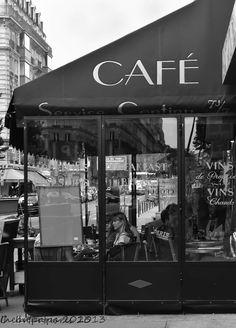 Fotografía de Paris, Paris Photo, decoración francesa, París decoración, blanco y negro, café