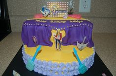 Stage cake
