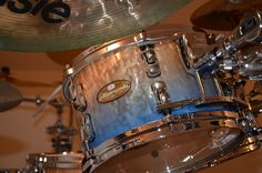 Pearl Drums, How To Play Drums, Beautiful Guitars, Percussion, Music Instruments, Pearls, Musical Instruments, Beads, Gemstones