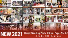 NEW 2021 Classic Wedding Photo Album 12x36 DM Pages-Vol-03
