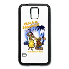 This Aloha Hawaii Samsung Galaxy s5 Rubber Case is available exclusively from PersonalizedSouvenirs.com.