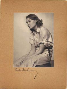 CAFÉ MARQUARDT: Porträtserie von Trude Fleischmann