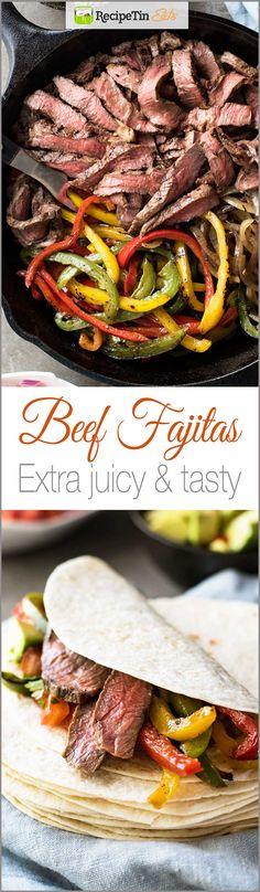Beef Fajita Marinade on Pinterest | Fajita Marinade, Beef Fajitas ...