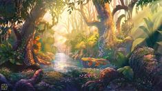 Mantra, Studio Backdrops, Custom Backdrops, Forest Background, Fantasy Forest, Forest Painting, Jungle Theme, Photo Tree, Photography Backdrops
