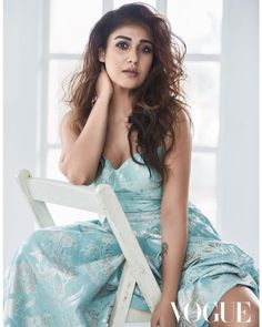 Nayantharas latest hot and gorgeous photos from Vogue India Photoshoot. She is the first south indian actress to get featured in the magazine cover. South Actress, South Indian Actress, Beautiful Indian Actress, Vogue Magazine Covers, Vogue Covers, Gq Magazine, Hot Actresses, Indian Actresses, Bollywood Actress Hot