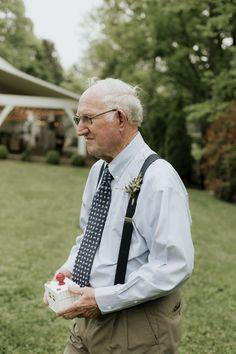 Sweet grandfather ring bearer #cedarwoodweddings  04.28.2017 :: Taylor+Stuart | Cedarwood Weddings