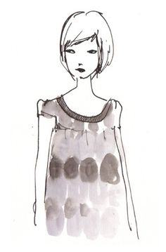 """""""Fashion Girls: Remember When 2007"""" Illustration by #MissCapricho"""