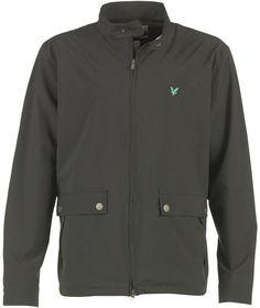 Lyle And Scott Club Mens Showerproof Jacket Black £37.99 72% OFF! #FASHION #DEALS #MENSFASHION