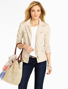 Talbots - Safari Jacket | Jackets |