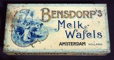 Bensdorp's Melk-Wafels.