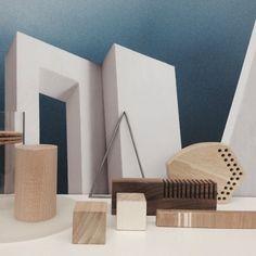 - Palette by Studio TAMI -  Un ensemble de petits volumes constituant un laboratoire d'expérimentation et de manipulation sensible à retrouver bientôt dans notre Collection Shop!