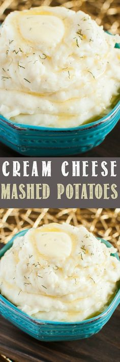 Amazing Cream Cheese Mashed Potatoes