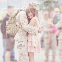 Military couples are the cutest... but we go through some of the hardest times