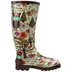 Owl Wellies..