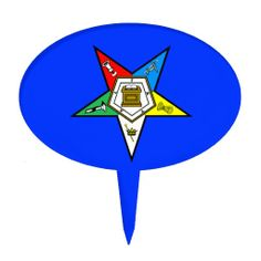 OES Order of the Eastern Star Cake Topper