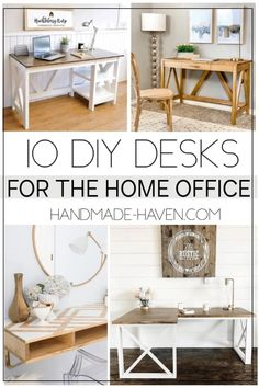 Wood Pallet Furniture, Office Furniture, Office Decor, Diy Furniture, Office Ideas, House Furniture, Handmade Furniture, Furniture Projects, Furniture Plans