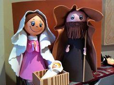 belen goma eva - Buscar con Google A Christmas Story, Christmas Crafts, Christmas Decorations, Christmas Ornaments, Holiday Decor, Diy Nativity, Coloring Pages, Origami, Teddy Bear