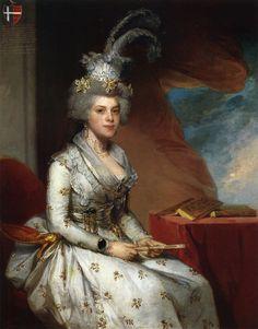 Mathilda Stoughton de Jaudenes Y Nebot  Gilbert Stuart