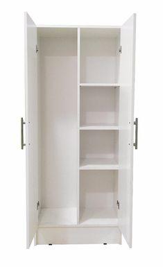 Wall Wardrobe Design, Wardrobe Door Designs, Bedroom Closet Design, Bedroom Wardrobe, Home Room Design, Closet Designs, Small Laundry Rooms, Laundry Room Design, Utility Room Storage