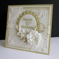 Shabby Birthday by sistersandie - Cards and Paper Crafts at Splitcoaststampers
