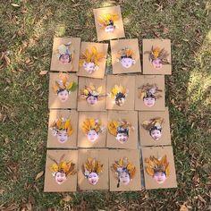자연물로 꾸민 얼굴에 대한 이미지 검색결과 Fall Crafts For Toddlers, Toddler Crafts, Fun Crafts, Diy And Crafts, Arts And Crafts, Nature Activities, Preschool Activities, Art Projects, Projects To Try