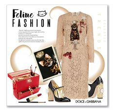 """Feline Fashion: Dolce& Gabbana style..."" by fashionlibra84 on Polyvore featuring Dolce&Gabbana"