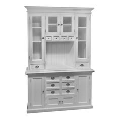 Features: -Kiln Dried Solid Mahogany. -Hand Finished Furniture. -Pure White Color. Product Type: -China cabinet. Design: -Standard. Style (Old): -Contemporary. Finish: -White. Material: -Solid