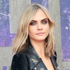 Cara Delevingne's susnet eye makeup is beautiful