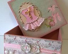 Caixa Decorada Bailarina