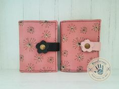 Dandelion card holder by ManoFactured on Etsy