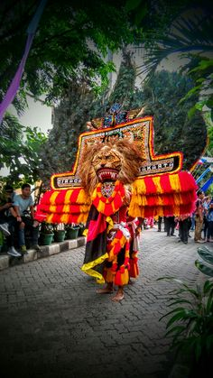 The Reog Ponorogo, East Java - Indonesia