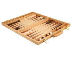 Christopher Wood Backgammon Set - $60