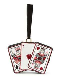Comprar Olympia Le-Tan 'Playing cards' clutch en 4 from the world's best independent boutiques at farfetch.com. Shop 300 boutiques at one address.