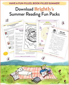 From summer reading lists to learning games, printable activities, and road trip listens, find everything you need to make this a fun-filled, book-filled summer!
